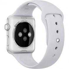 Curea Sport Gri Fog Pin Otel Inoxidabil Apple Watch 42MM - Curea ceas cauciuc