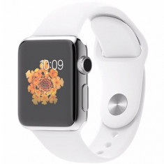 APPLE WATCH 38 MM CARCASA DIN OTEL INOXIDABIL SI CUREA SPORT ALBA MJ302LL - Smartwatch