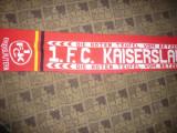 Fular cu insemne  Echipa Fotbal Kaiserslautern Germania -pt.fani