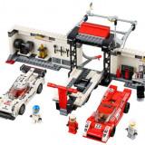 LEGO® Speed Champions Porsche 919 Hybrid and 917K Pit Lane 75876