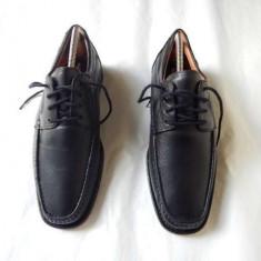Pantofi ''HUSH PUPPIES'', noi, din piele naturala, marimea 43, calitate. - Pantof barbat Hush Puppies, Culoare: Din imagine