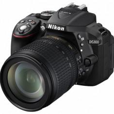 Nikon D5300 kit (18-105mm VR) - DSLR Nikon, Kit (cu obiectiv), Peste 16 Mpx, Full HD