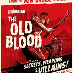 Bethesda softworks Joc software Wolfenstein The Old Blood PS4