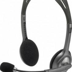 LOGITECH Stereo Headset H111 – EMEA - One Plug - Casca PC