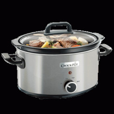 Slow cooker 3.5L Brushed Inox - Multicooker, 3.5 litri