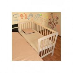 Patut copii cu laterala detasabila - Patut lemn pentru bebelusi Mesterel, Altele, 120x60cm