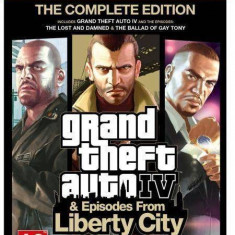 Rockstar games Joc software Grand Theft Auto IV: Episodes From Liberty City PC