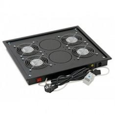 TRITON Panou ventilatie pentru rack de podea 19', 2 ventilatoare 230V/60W cu termostat, flux axial, - Cooler server