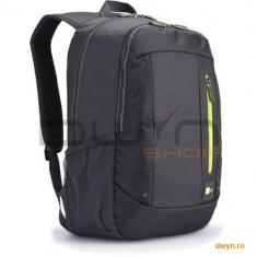 Rucsac laptop 15.6' Case Logic, buzunar intern tableta, buzunar frontal, poliester, antracit 'WMBP-1 - Geanta laptop Case Logic, Nailon, Gri