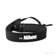 Curea din neopren neagra elastica si antialunecare pt. DSLR Nikon