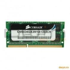 Corsair SODIMM DDR3 4GB 1333MHz - Memorie RAM laptop