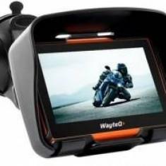 GPS WayteQ xRIDER motor + Sygic 3D Full Europa, 5 inch, Toata Europa