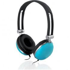 Casti AUDIO I-BOX HPI D005 albastru, Casti On Ear, Cu fir, Mufa 3, 5mm