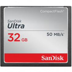 Card Sandisk Compact Flash Ultra 50Mbs 32GB - Card Compact Flash