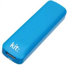 Incarcator portabil universal Kit Essential Blue 2000 mAh