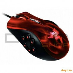 Razer Naga HEX Demonic Red Edition Gaming Mouse, 5600dpi, 3.5G Laser sensor, 200 inches/sec max trac