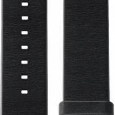 Huawei Huawei Watch W1 - Bratara piele neagra, margini drepte