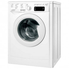 Masina de spalat frontala INDESIT IWE 61051 C ECO EU, 6kg, 1000rpm, A+, alb - Masini de spalat rufe