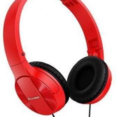Căști Pioneer SE-MJ503-R, roșu, Casti On Ear, Cu fir, Mufa 3, 5mm, Active Noise Cancelling