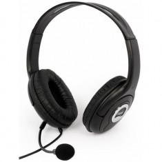 Casti cu microfon LOGIC HEADPHONES S-LC-30 negre - Casca PC