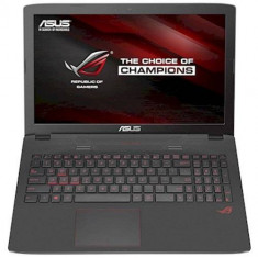 Laptop ASUS ROG GL752VW-T4015D, Intel Core i7-6700HQ, 1TB HDD, 8GB DDR4, nVidia GeForce GTX 960M 4GB, FreeDOS, Diagonala ecran: 17, Fara sistem operare