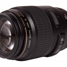 Obiectiv Canon EF 100mm f/2.8 Macro USM - Obiectiv DSLR Canon, Macro (1:1), Canon - EF/EF-S