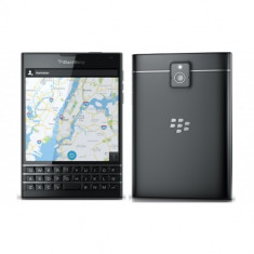 BLACKBERRY PASSPORT 32GB LTE 4G NEGRU - Telefon BlackBerry