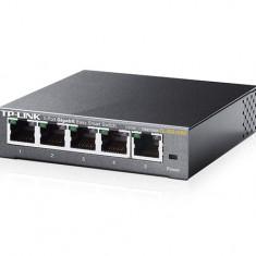 TP-LINK Switch TP-Link TL-SG105E, 5 porturi Gigabit, Desktop, Easy Smart, 16Gbps Capacity, Tag- based VLAN,