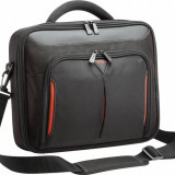 Targus geanta laptop Classic+Clamshell 10-12,1 in/25,4 -30,7 cm, negru si rosu