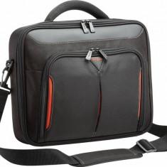 Targus geanta laptop Classic+Clamshell 10-12, 1 in/25, 4 -30, 7 cm, negru si rosu, Geanta de umar, Nailon