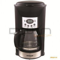 Cafetiera digitala Heinner Savory 1100D, HCM-1100D, 900W, display, control electronic, timer, functi
