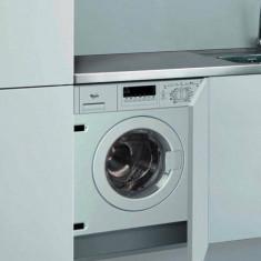 Masina de spalat rufe incorporabila Whirlpool AWOC 0714, clasa A++, 1400 rpm, 7 kg, alb - Masini de spalat rufe