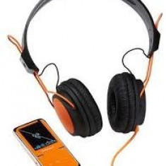 Intenso MP4 player 8GB Video Scooter LCD 1, 8'' Orange + Headphones - Mp4 playere