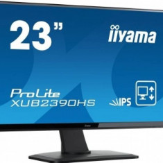 Monitor LED Iiyama XUB2390HS-B1 23 inch 5ms Negru - Monitor touchscreen