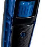 Aparat de tuns barba Philips Beardtrimmer QT4002/15, Fara fir, Negru/Albastru