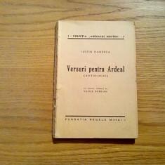 VERSURI PENTRU ARDEAL - Iustin Handrea - chipuri desenate: Vasile Dobrian - 1945, Alta editura