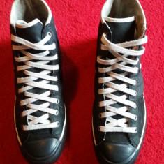 Converse Lady All Star originali, high top, piele naturala, nr.37, 5. - Tenisi dama Converse, Culoare: Negru