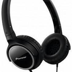 Pioneer Căști Pioneer SE-MJ512-K, negru, Casti On Ear, Cu fir, Mufa 3, 5mm, Active Noise Cancelling
