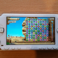 Consola PSP Sony 1000 MODATA PSP Sony FAT MODAT Card 8 GB + 96 Jocuri Pe Card