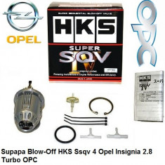 Supapa Blow-Off HKS Ssqv 4 Opel Insignia 2.8 Turbo OPC - Blow Off Valve