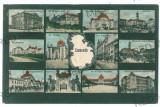 3558 - Bucovina, CERNAUTI,  Synagogue - old postcard - used, Circulata, Printata