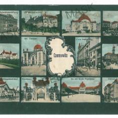 3558 - Bucovina, CERNAUTI, Synagogue - old postcard - used - Carte Postala Bucovina 1904-1918, Circulata, Printata