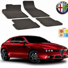 Set covorase auto Hitech din cauciuc Alfa Romeo Brera 2005-2010