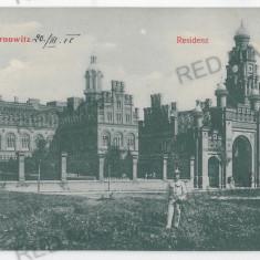 3572 - Bucovina, CERNAUTI, Metropolitan Residence - old postcard - unused - Carte Postala Bucovina 1904-1918, Necirculata, Printata