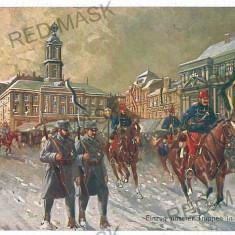 3559 - Bucovina, CERNAUTI, Military - old postcard - used - 1915 - Carte Postala Bucovina 1904-1918, Circulata, Printata
