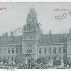 3506 - Bucovina, CERNAUTI, Metropolitan Residence - old postcard - used - 1909 - Carte Postala Bucovina 1904-1918, Circulata, Printata