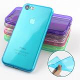 Bumper / Husa Silicon / Gel TPU pentru iPhone 6 / 6s - Husa Telefon, Transparent