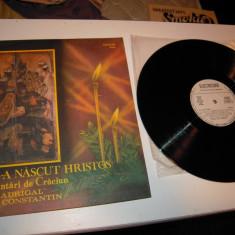 Disc VINIL ELECTRECORD: MADRIGAL - Colinde si cantari de Craciun, Stare BUNA - Muzica Sarbatori