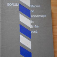 SIMA BORLEA--MANUAL DE CONVERSATIE IN LIMBA RUSA