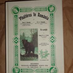 Vanatoarea in Romania (reeditarea editiei 1901) an 2001 - Ernest Gheorghiu